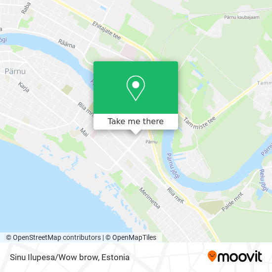 Sinu Ilupesa/Wow brow map