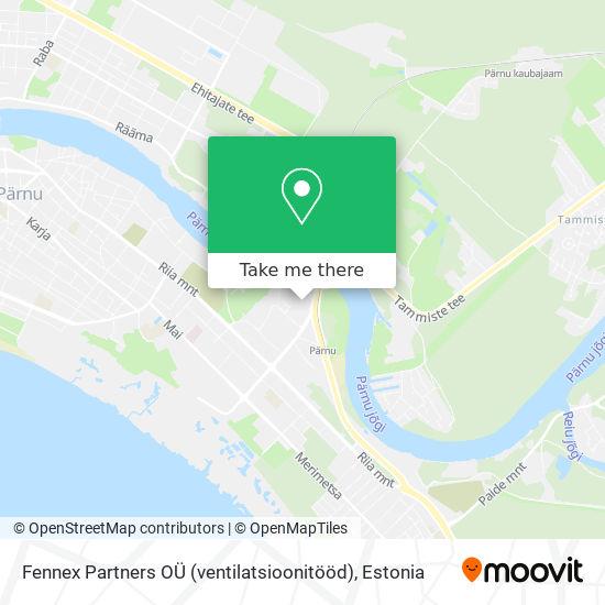Fennex Partners OÜ (ventilatsioonitööd) map