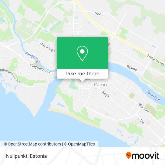 Nullpunkt map