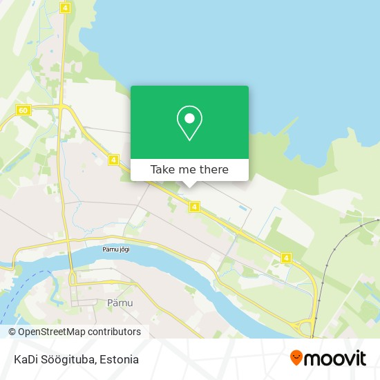 KaDi Söögituba map