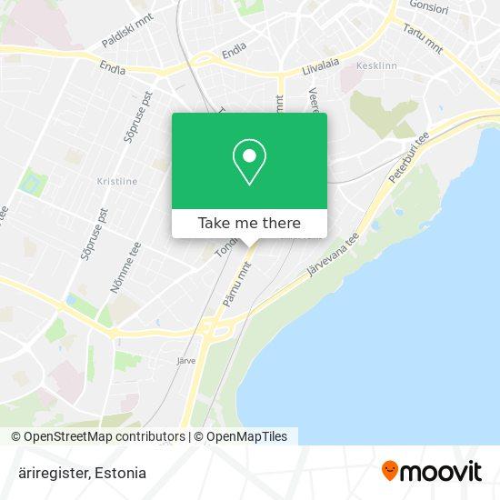 äriregister map
