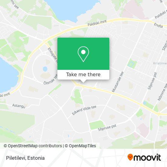 Piletilevi map