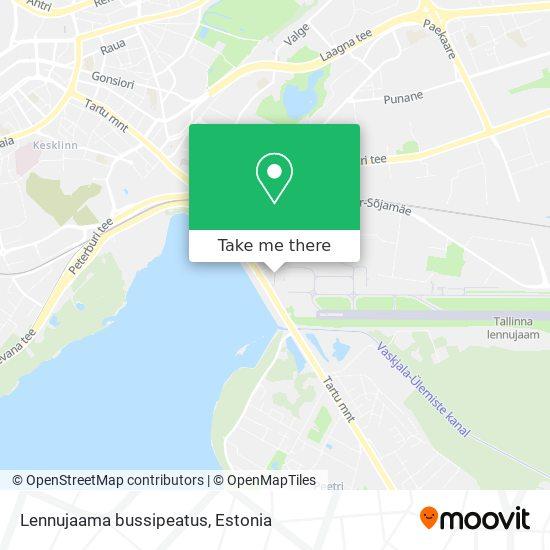 Lennujaama bussipeatus map