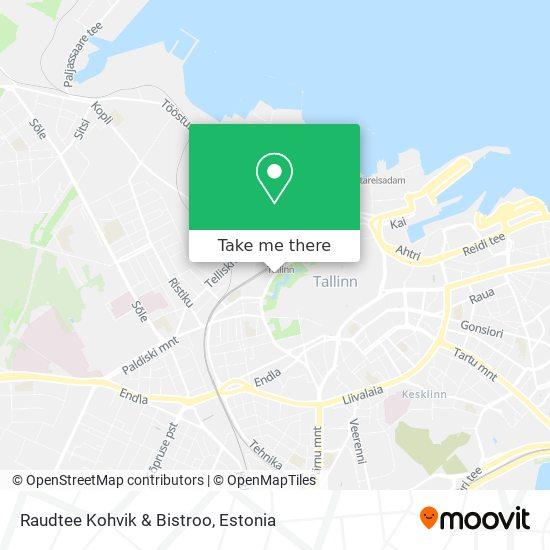 Raudtee Kohvik & Bistroo map