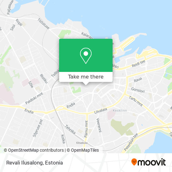 Revali Ilusalong map