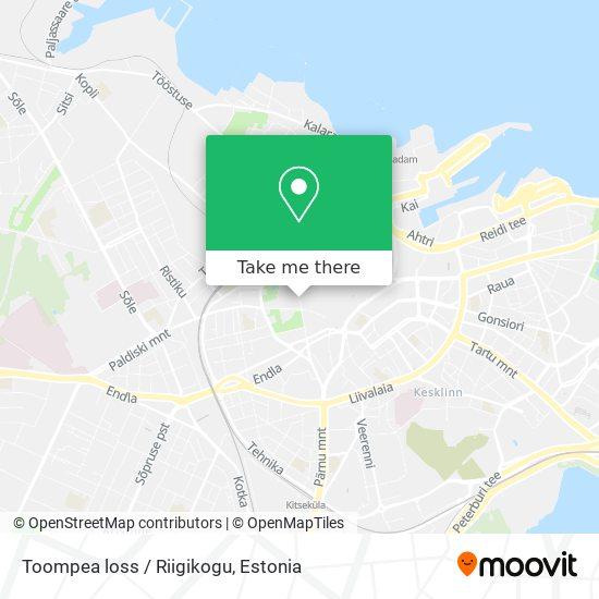Toompea loss / Riigikogu map