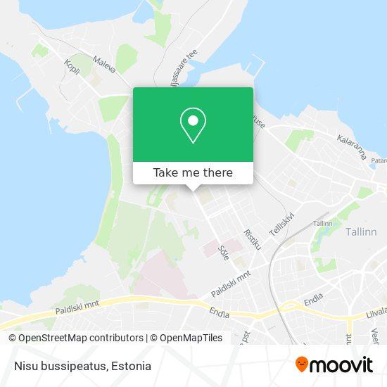 Nisu bussipeatus map