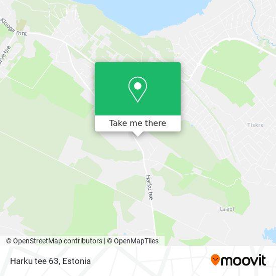 Harku tee 63 map