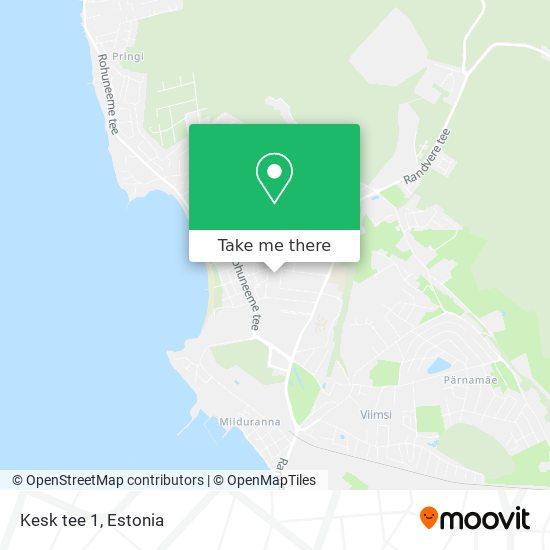 Kesk tee 1 map
