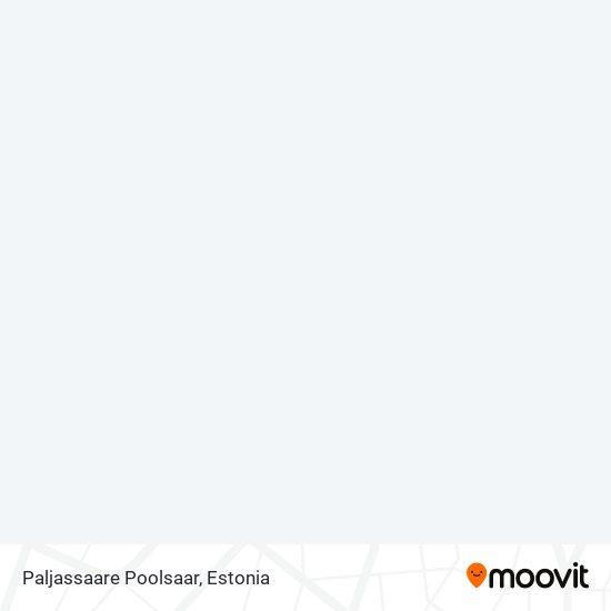Paljassaare Poolsaar map