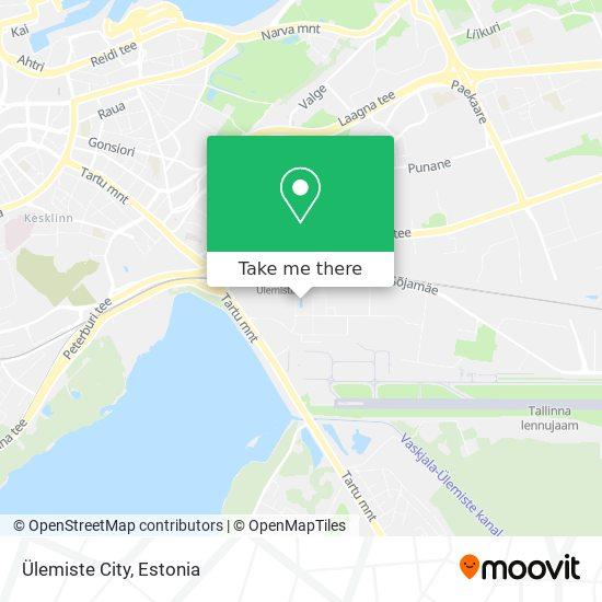 Ülemiste City map