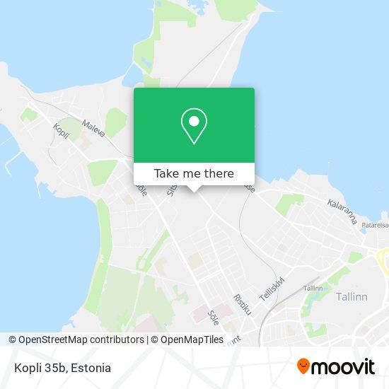 Kopli 35b map