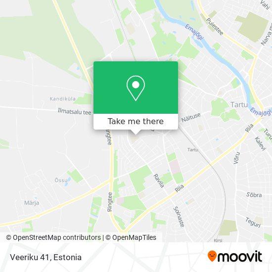 Veeriku 41 map