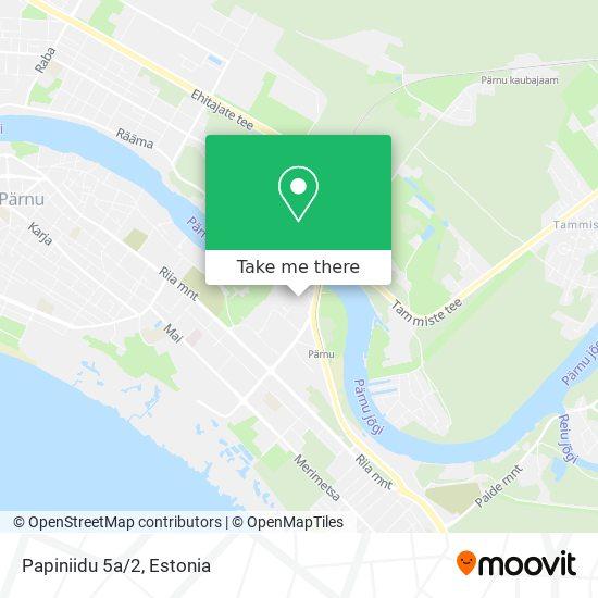 Papiniidu 5a/2 map