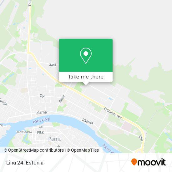 Lina 24 map
