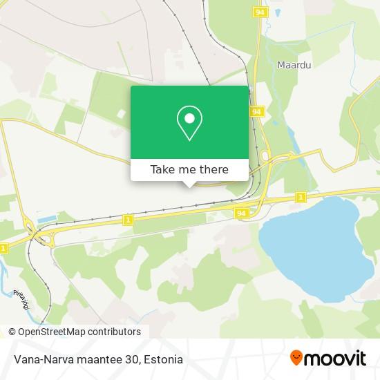 Vana-Narva maantee 30 map