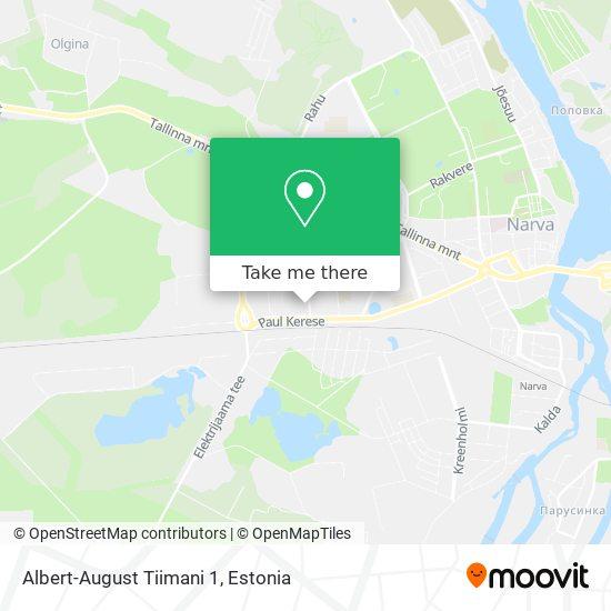 Albert-August Tiimani 1 map