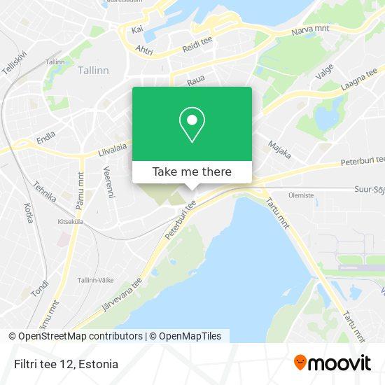 Filtri tee 12 map