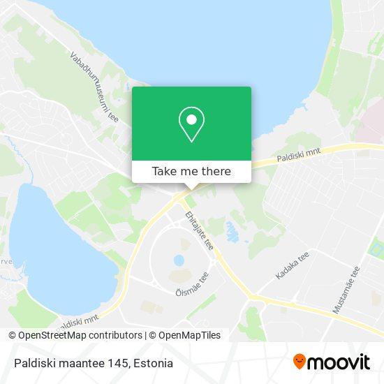 Paldiski maantee 145 map