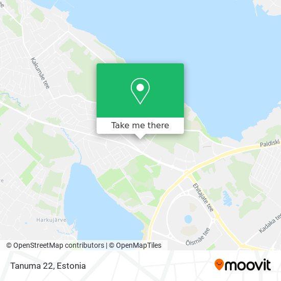 Tanuma 22 map