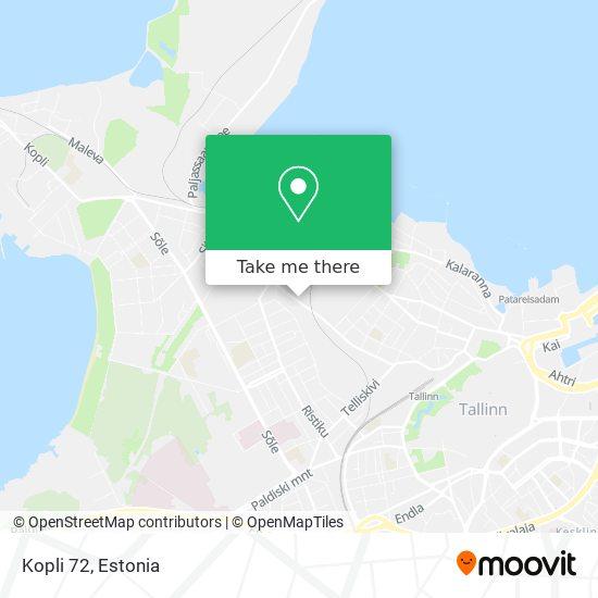 Kopli 72 map