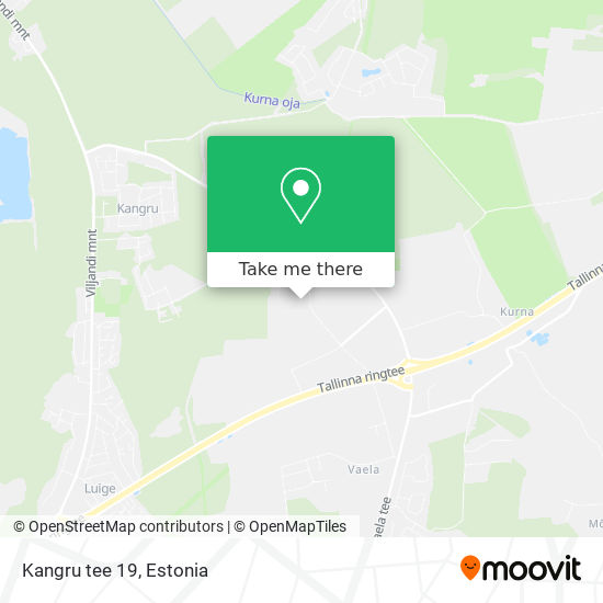 Kangru tee 19 map
