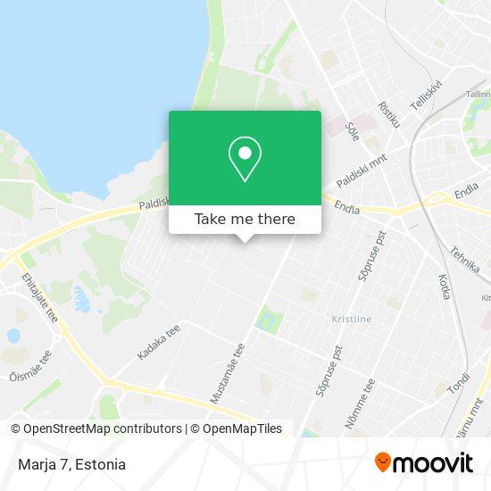 Marja 7 map