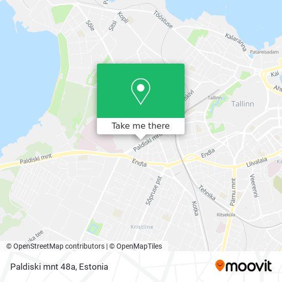Paldiski mnt 48a map