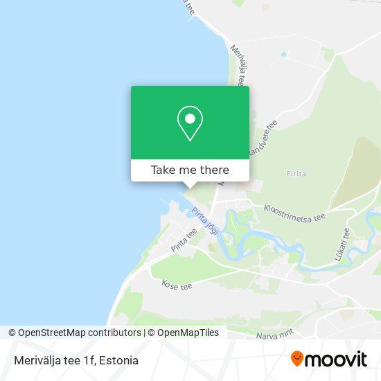Merivälja tee 1f map