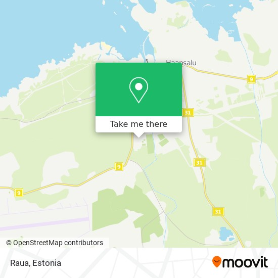 Raua map