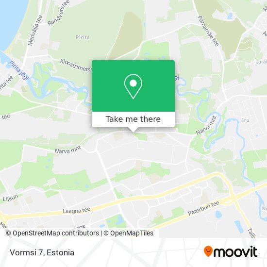 Vormsi 7 map