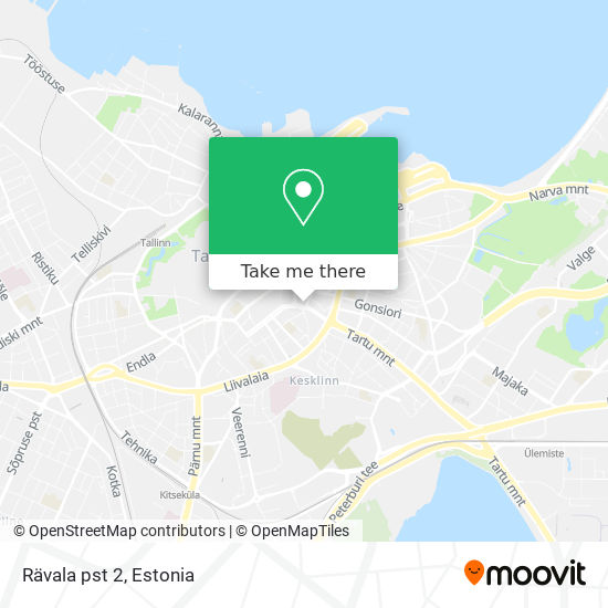 Rävala pst 2 map