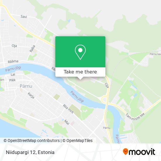 Niidupargi 12 map