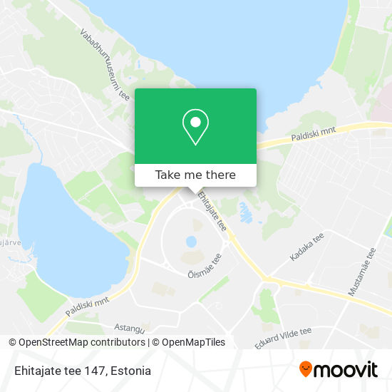 Ehitajate tee 147 map