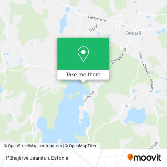Pühajärve Jaanituli map