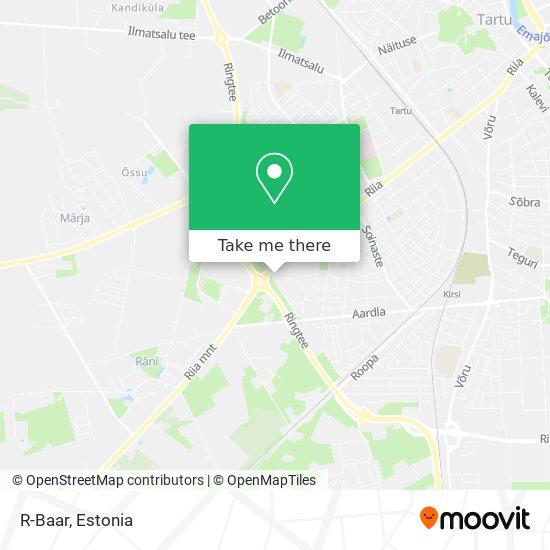 R-Baar map
