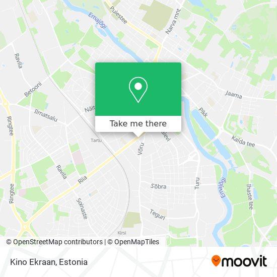 Kino Ekraan map