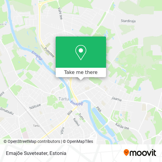Emajõe Suveteater map