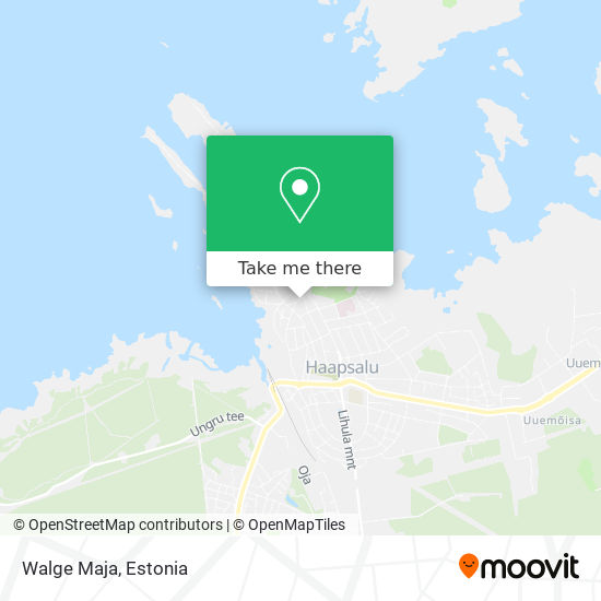 Walge Maja map