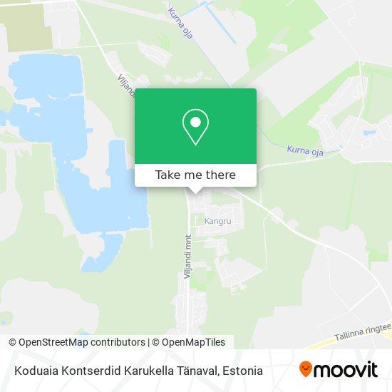 Koduaia Kontserdid Karukella Tänaval map