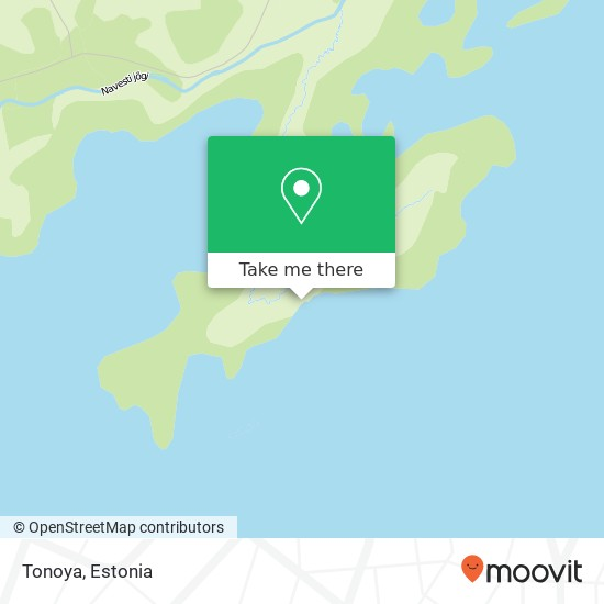 Tonoya map