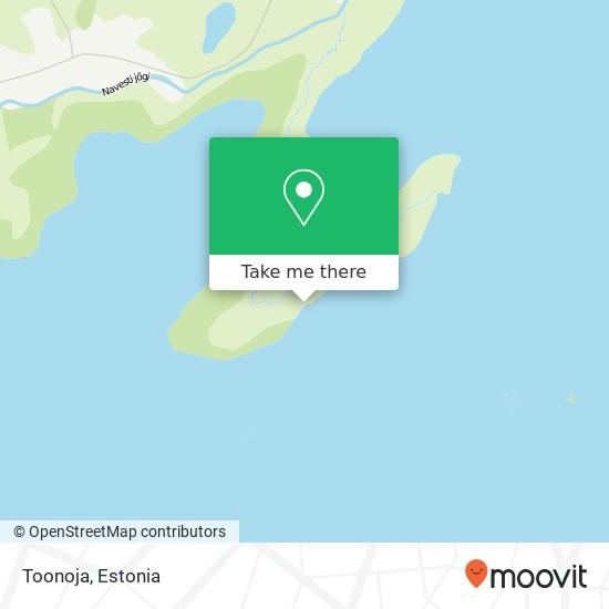 Карта Toonoja