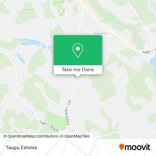 Tauga map