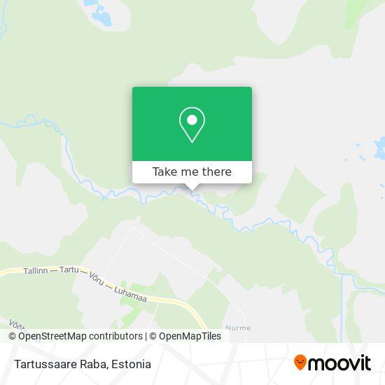 Tartussaare Raba map