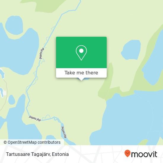 Tartusaare Tagajärv map