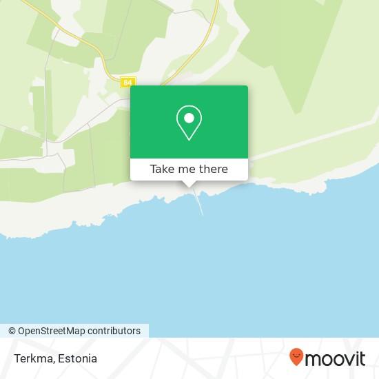 Terkma map