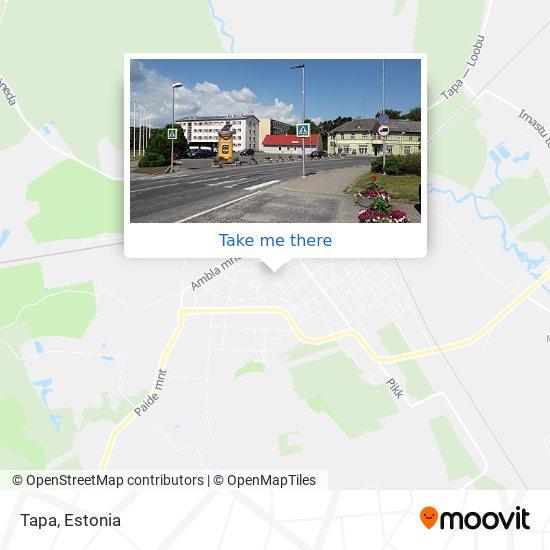 Tapa map
