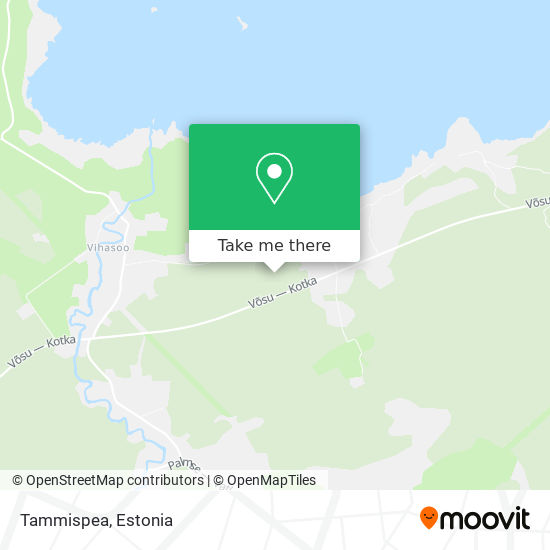 Tammispea map