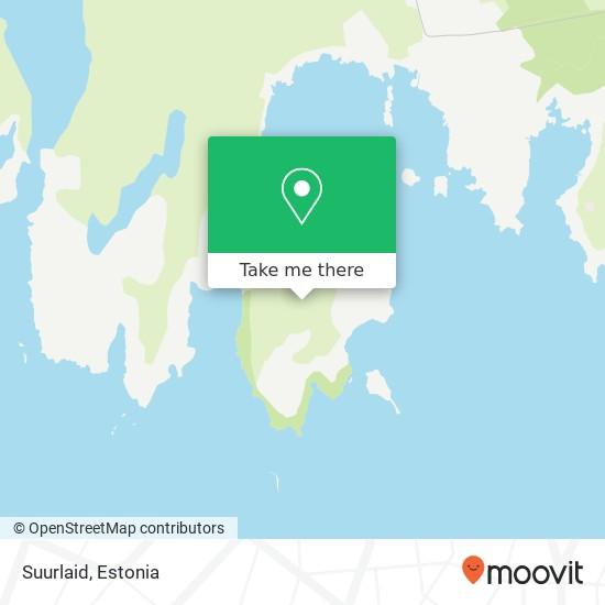 Suurlaid map