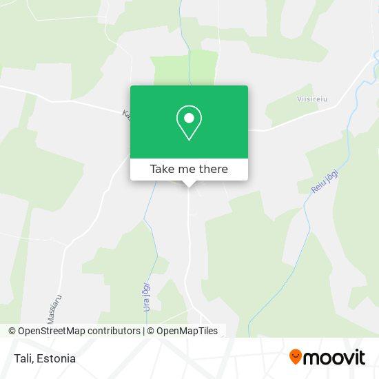 Tali map